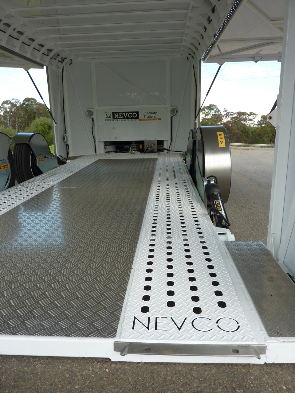 Enclosed Car Trailer Nevco Engineering