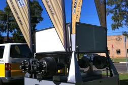 Axle Display Trailer