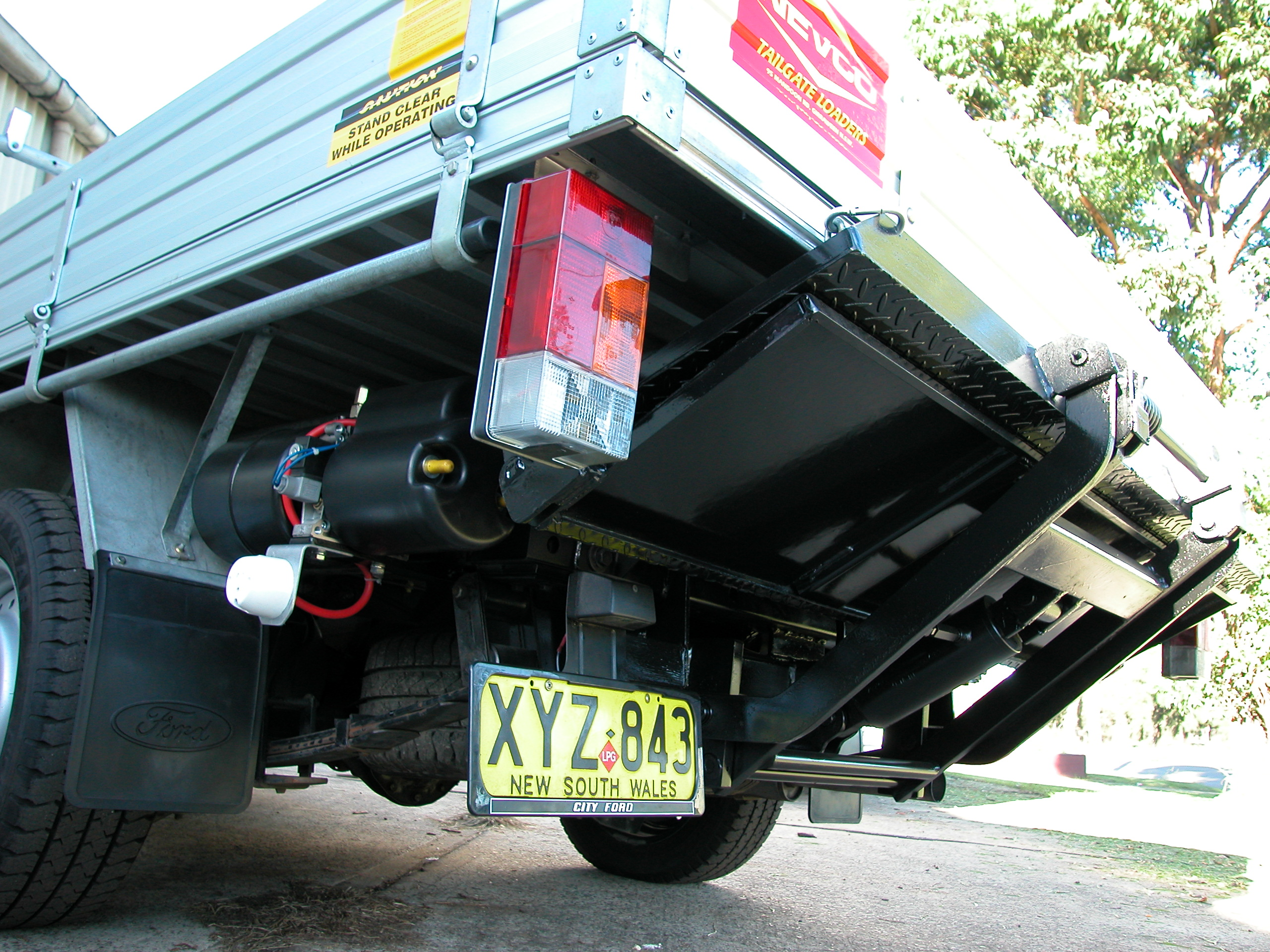 Tailgate Loaders Nevco Engineering
